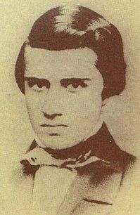 A picture of Azevedo taken during the late 1840s