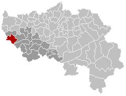 Héron Liège Belgium Map.png