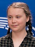 Greta Thunberg, featured on the track