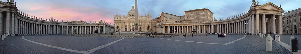 Panorama of St. Peter's Square