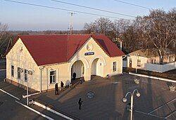 Bobrovytsia railway station