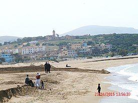 the beach at Rachgoun