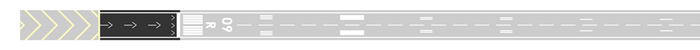 Runway diagram, Displaced threshold.png