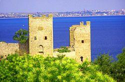 费奥多西亚的热内亚要塞。