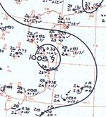 Tropical Storm Anita analysis 19 Oct 1961.png