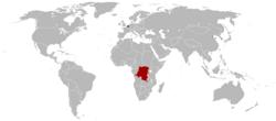1920年比利时殖民地分布