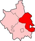 东剑桥郡位于剑桥郡的位置