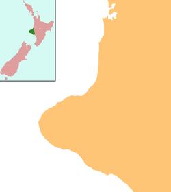 New Plymouth is located in Taranaki Region