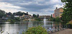 Vijverpark (Pond park) in Brunssum centre