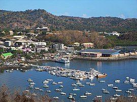 马穆楚港口的观景