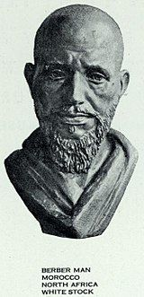 "Berber man of ""Western Hamitic type"""