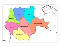 Districts of South Bohemia