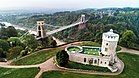 Clifton Suspension Bridge and the Observatory in Bristol, England.jpg