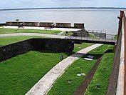 Fort of the Nativity (Forte do Presépio), in Belém city, Brazil.