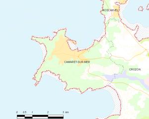 滨海卡马雷市镇地图