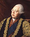 Portrait of Lord North, war Prime Minister for King George III.