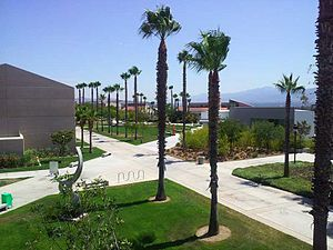 Norco College as seen from the balcony of the Applied Technology Building