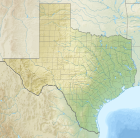 Houston is located in Texas
