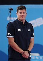 Gyurta at the 2018 Summer Youth Olympics