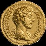 INC-1604-a Ауреус Марк Аврелий цезарь ок. 152-153 гг. (аверс).png