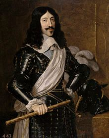 Portrait of Louis XIII in his thirty-fourth year