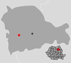 Location of Bicaz