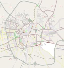 Aleppo is located in Aleppo
