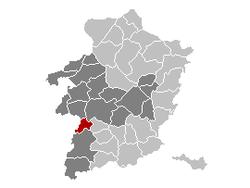 Nieuwerkerken Limburg Belgium Map.png