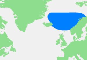 挪威海地图