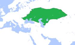 1300年的钦察汗国