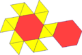 Net of hexagonal antiprism.png