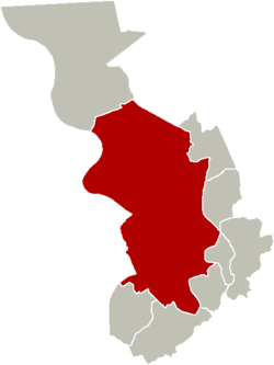 District of Antwerp within the city of Antwerp