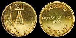 Gemini 12 Flown Fliteline Gold-Plated Sterling Silver Medallion.jpg