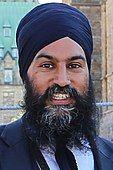 Jagmeet Singh - Ottawa - 2018 (42481105871) (cropped portrait).jpg