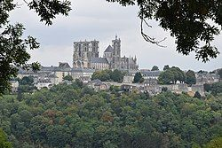Laon, capital city of the Aisne department