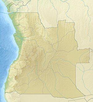 Luanda is located in Angola