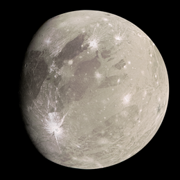 True-color image taken by the Galileo probe