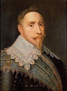 Attributed to Jacob Hoefnagel - Gustavus Adolphus, King of Sweden 1611-1632 - Google Art Project.jpg