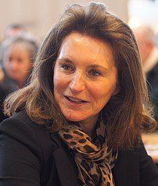 Cécilia Attias - Salon du livre de Paris - 23 mars 2014 - crop.JPG