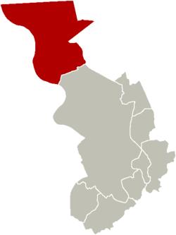District of Berendrecht-Zandvliet-Lillo within the city of Antwerp