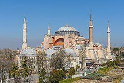 位于法蒂赫(君士坦丁堡)的圣索菲亚大教堂