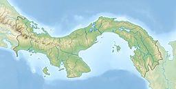 La Yeguada在巴拿马的位置
