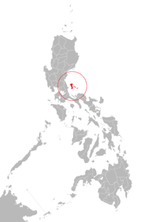 Location of 波利略岛