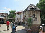 Sedgwick County Zoo Gorilla Village 2013.JPG