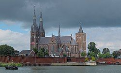 Monumental church in Cuijk