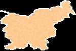 Map of Slovenia (2005)