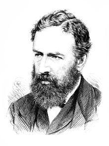 Engraving of William Stanley Jevons