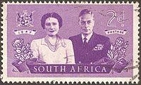AfSud stamp eng royal couple 1947.jpg