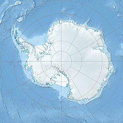 中国南极泰山站在南极洲的位置