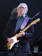 Eric Clapton performing in 2015